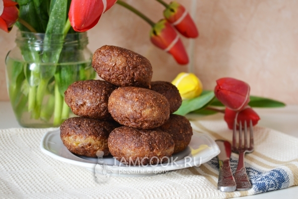 Photo of cutlet itik